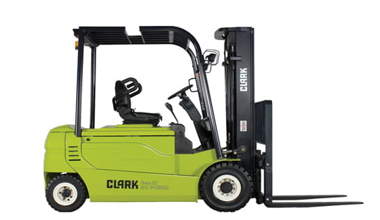 how to find year of clark forklift