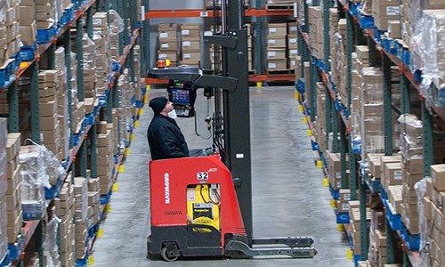 Warehouse Management Systems offered by Raymond Sales and Service Centers